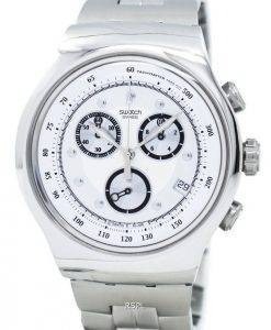 Montre Swatch Irony riche Star chronographe tachymètre Quartz YOS401G masculin