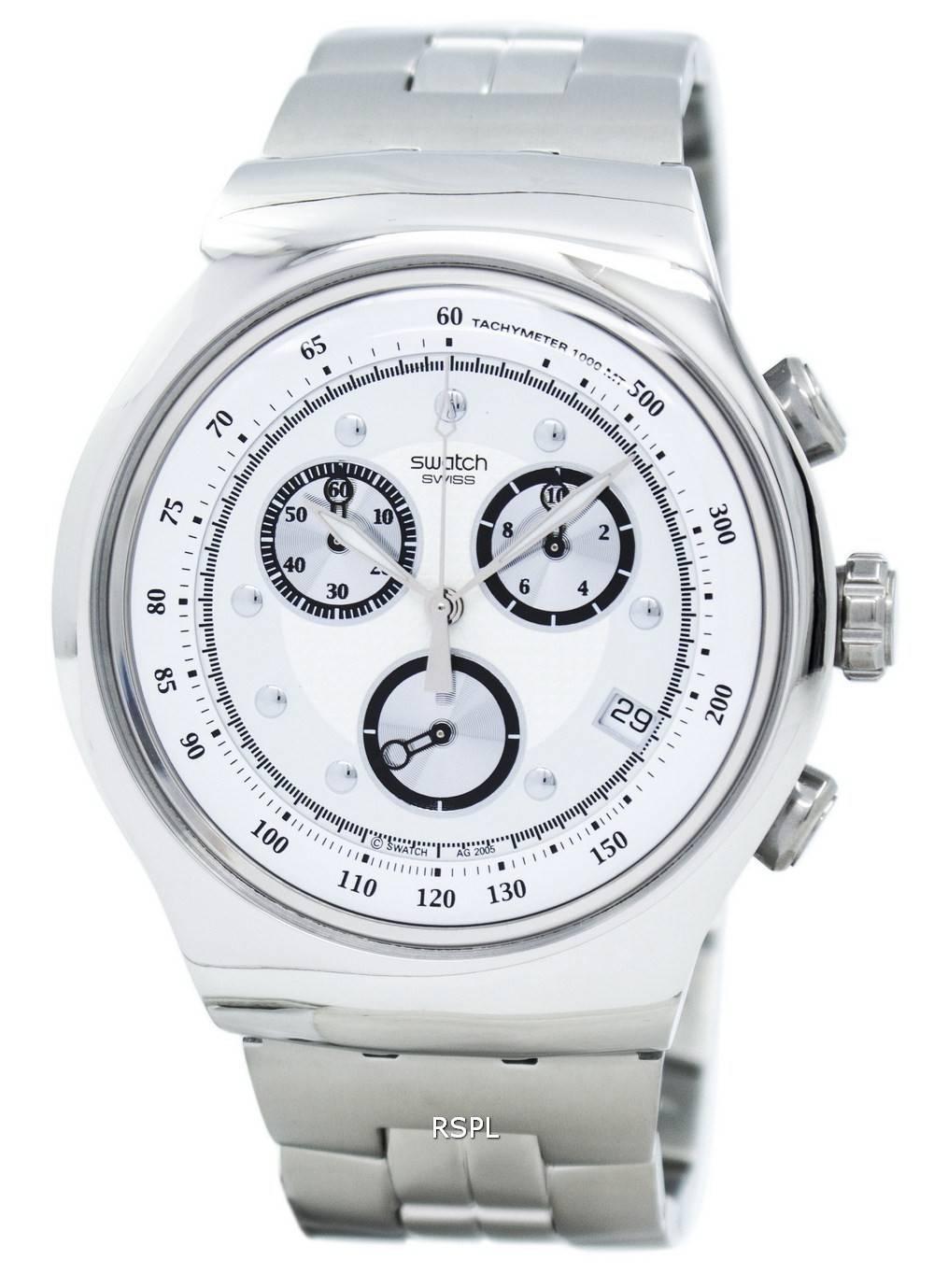 0c581b25d9 Montre Swatch Irony riche Star chronographe tachymètre Quartz YOS401G  masculin