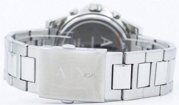 Armani Exchange chronographe cadran noir AX2084 montre homme