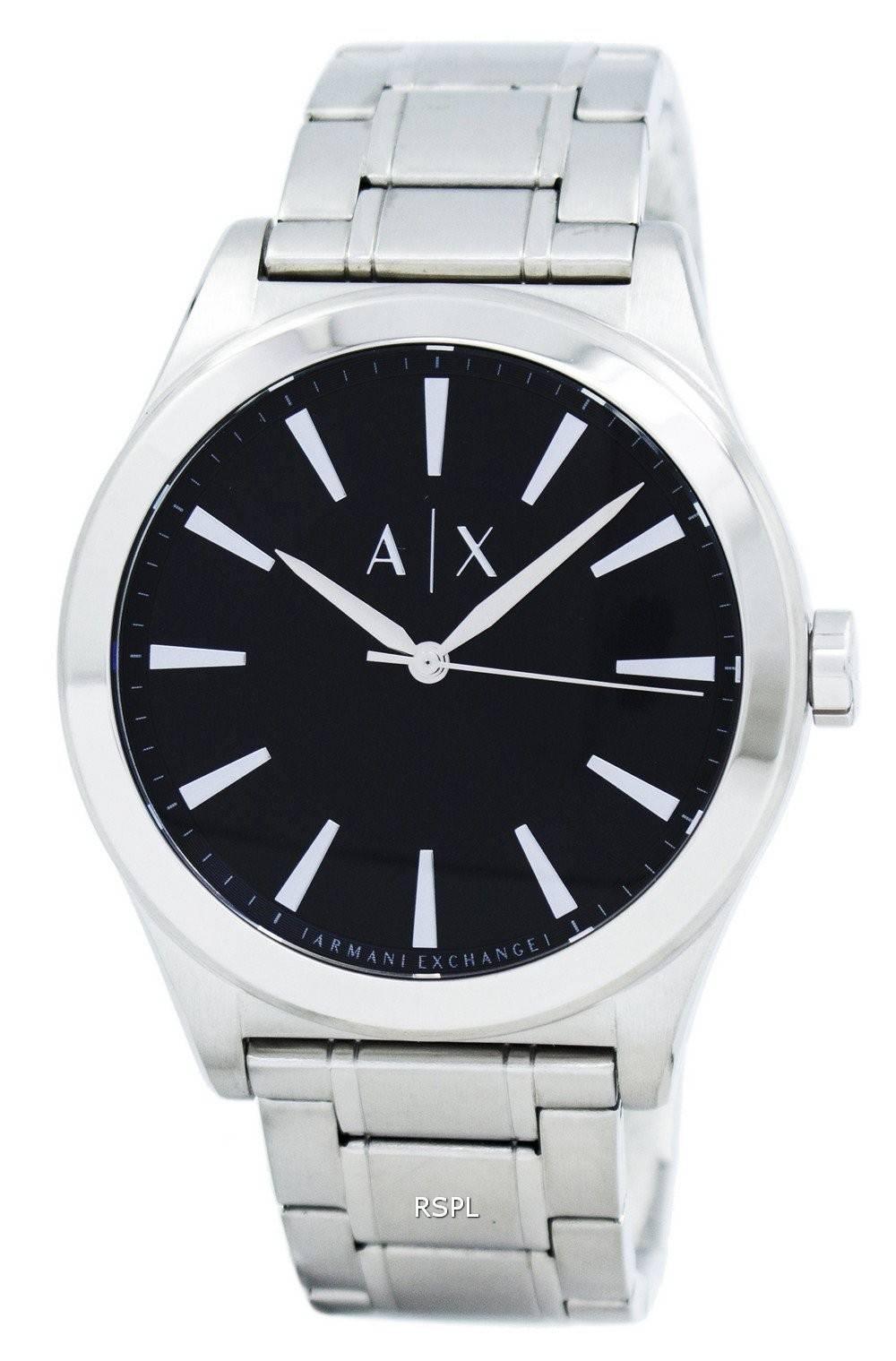 2319ec26d7 Armani Exchange robe Quartz AX2320 montre homme France