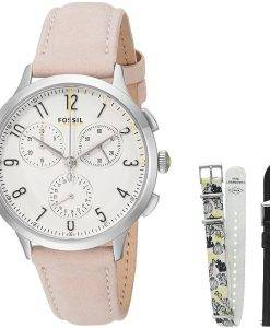 Abilene fossiles Chronographe Quartz CH3098SET Women Watch