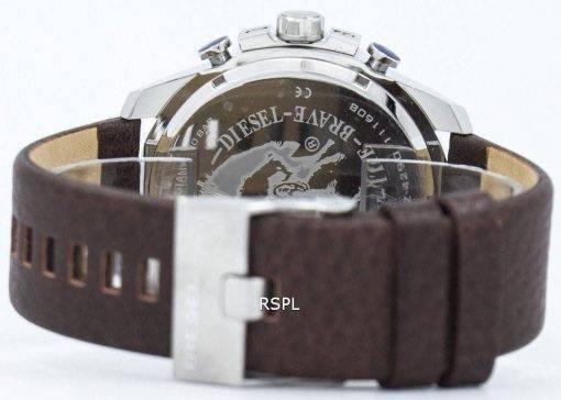Diesel Mega chef Chronograph gris cadran DZ4290 montre homme