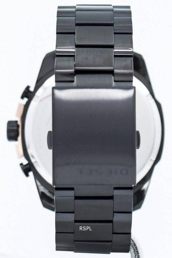 Chef de Quartz diesel Chronograph noir cadran DZ4309 montre homme