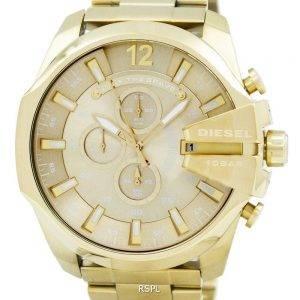 Diesel Quartz Mega chef Chronograph Gold Tone DZ4360 montre homme