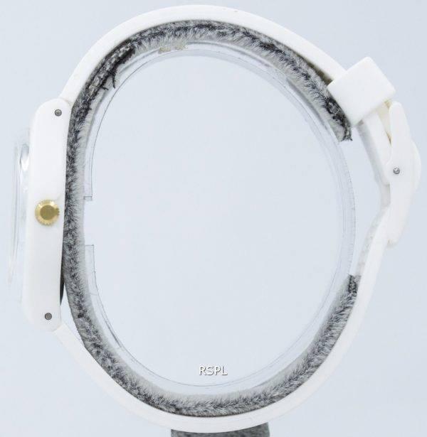 Montre unisexe Swatch Originals blanc évêque Quartz GW164