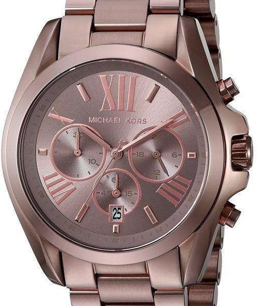 Michael Kors surdimensionné Bradshaw Chronographe Quartz MK6247 montre unisexe