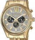 Michael Kors Lexington Chronographe Quartz Crystal Accent MK8494 montre homme