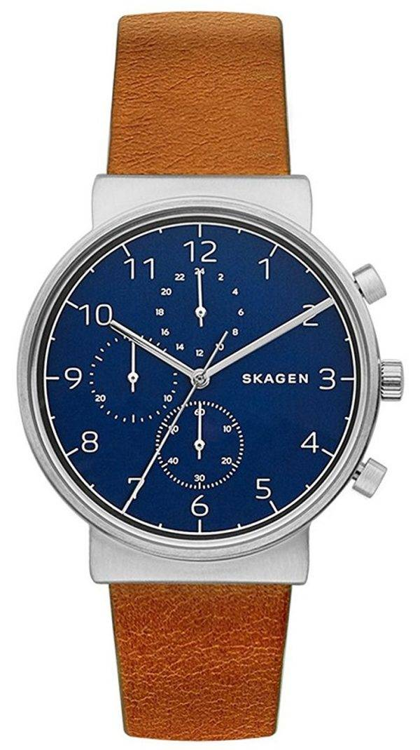 Montre Skagen Ancher Chronographe Quartz SKW6358 masculin