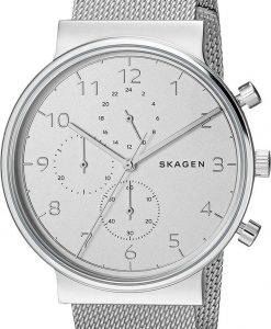 Montre Skagen Ancher Chronographe Quartz SKW6361 masculin