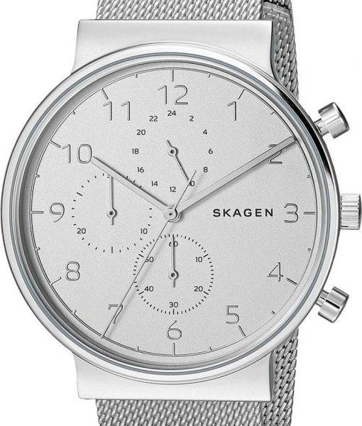 Montre Skagen Ancher Chronographe Quartz SKW6361 masculin