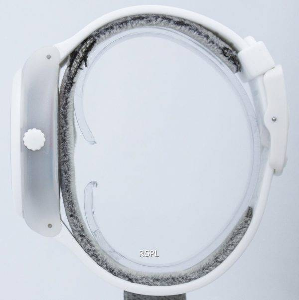 Montre unisexe Swatch Originals blanc Sistem SUTW400 automatique