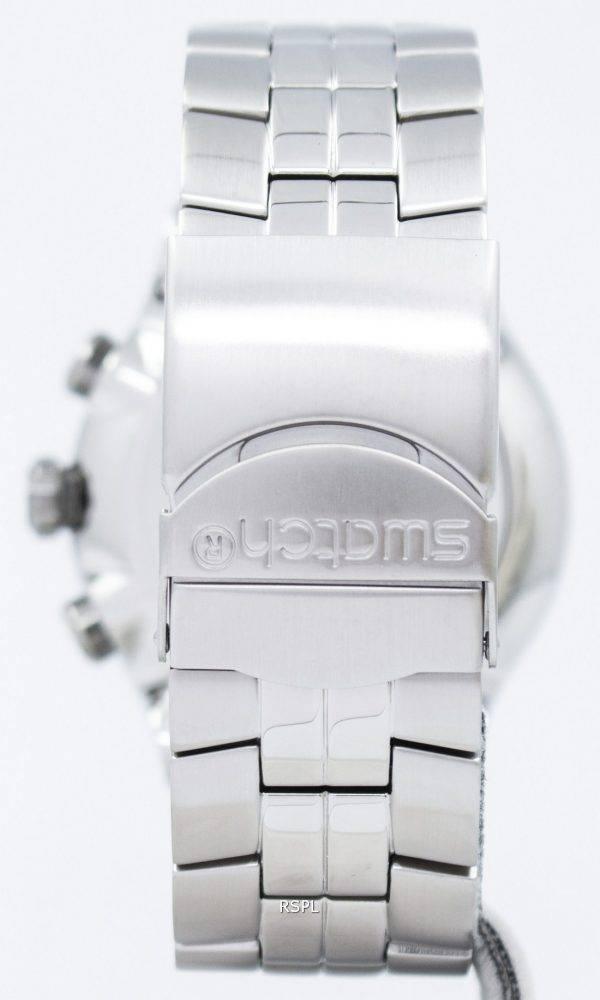 Montre Swatch Irony riche Star chronographe tachymètre Quartz YOS401G masculin