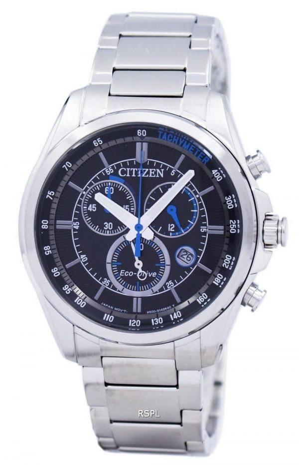 Montre Citizen Eco-Drive chronographe tachymètre AT2130-83F masculine