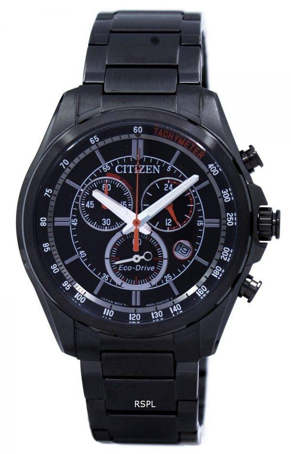 Montre Citizen Eco-Drive chronographe tachymètre AT2136-87F masculine