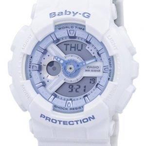 Casio Baby-G résistant aux chocs monde temps analogique numérique BA-110BE-7 a Women Watch