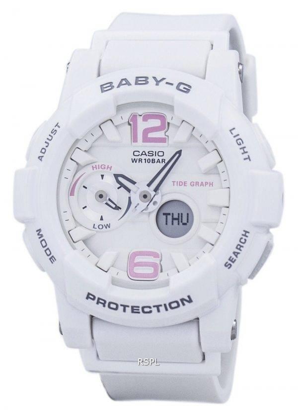 Casio Baby-G résistant aux chocs marée graphique analogique numérique BGA-180BE-7 b Women Watch
