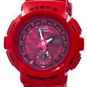 Casio Baby-G résistant aux chocs monde temps analogique numérique BGA-195M-4 a Women Watch