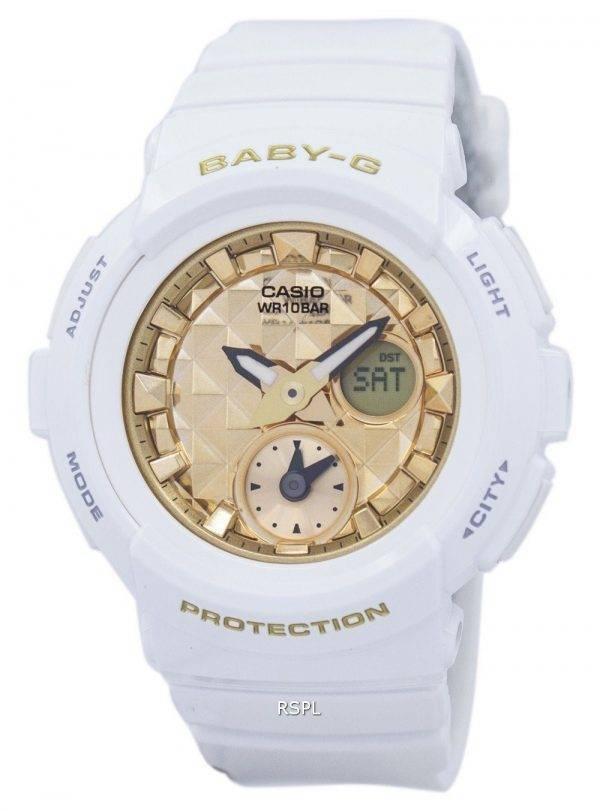 Casio Baby-G résistant aux chocs monde temps analogique numérique BGA-195M-7 a Women Watch