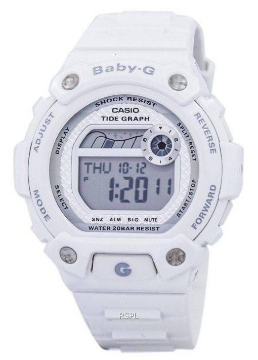Casio Baby-G Tide graphique alarme anti-choc BLX-100-7F Women Watch