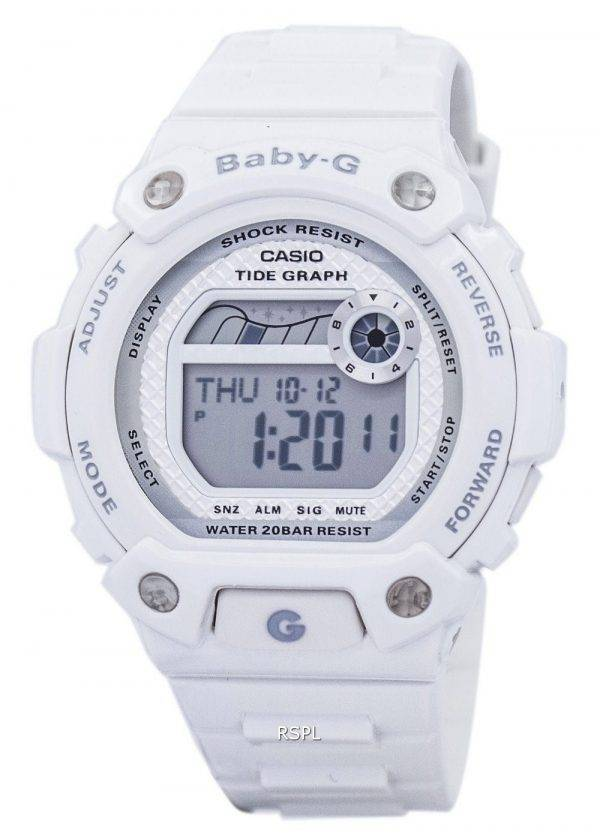 Casio Baby-G Tide graphique alarme anti-choc BLX-100-7F Women Watch