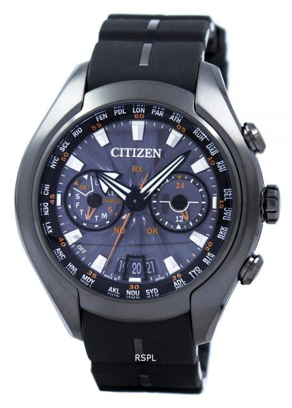 Citizen Promaster Satellite vague calendrier perpétuel Japon fait CC1075-05F montre homme