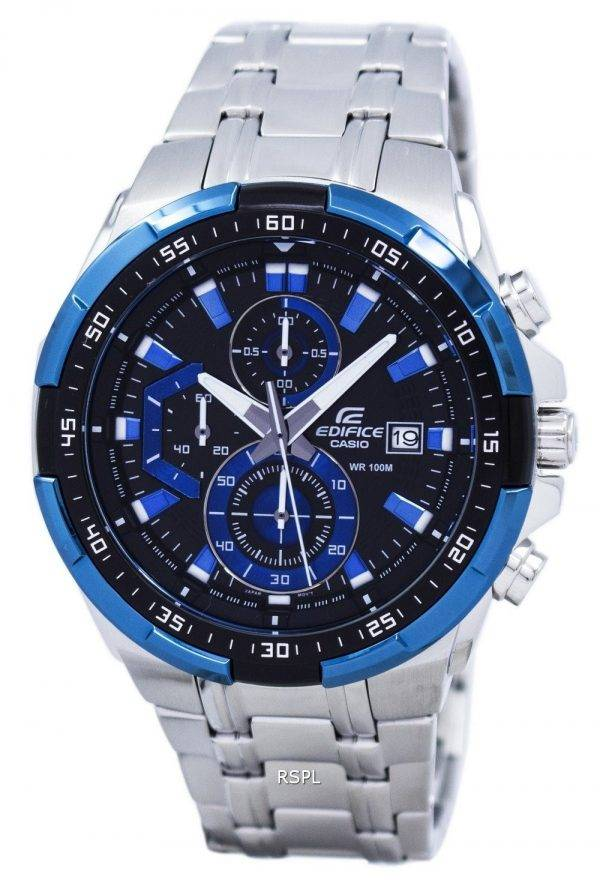 Montre Casio Edifice Chronographe Quartz EFR-539D-1A2V masculin