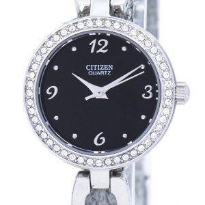 Montre Citizen Quartz diamant Accent EJ6070-51F féminin