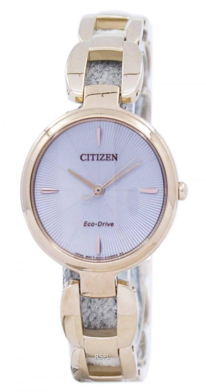 Montre Citizen Eco-Drive EM0423-81 a féminin