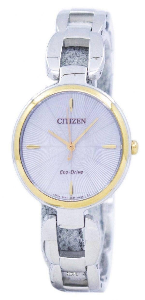 Montre Citizen Eco-Drive EM0424-88 a féminin