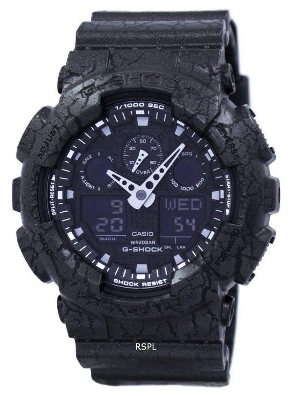Casio G-Shock monde résistant aux chocs heure analogique numérique GA-100CG-1 a montre homme