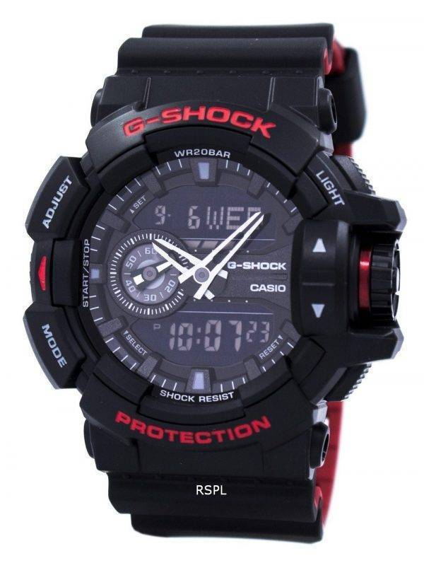 Casio G-Shock Analog digimonde fois 200M GA-400 h-1 a montre homme