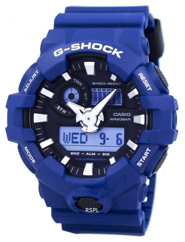 Analogique numérique Casio G-Shock 200M GA-700-2 a montre homme
