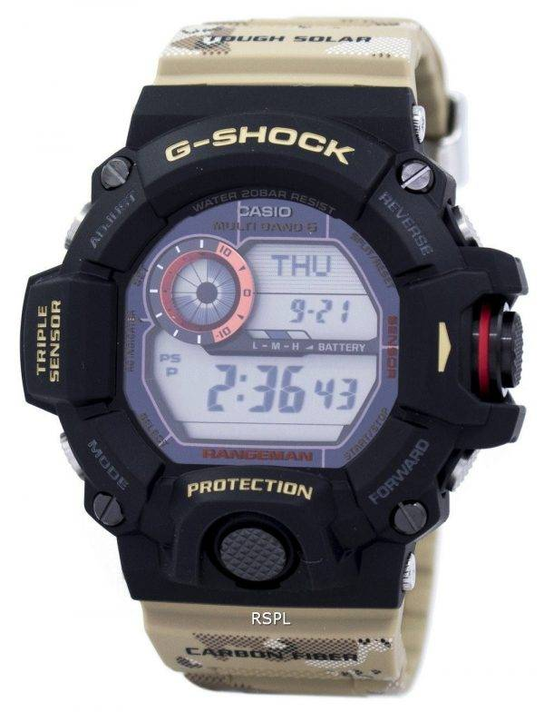 Casio G-Shock MULTIBAND 6 monde temps Tough Solar GW-9400DCJ-1 montre homme