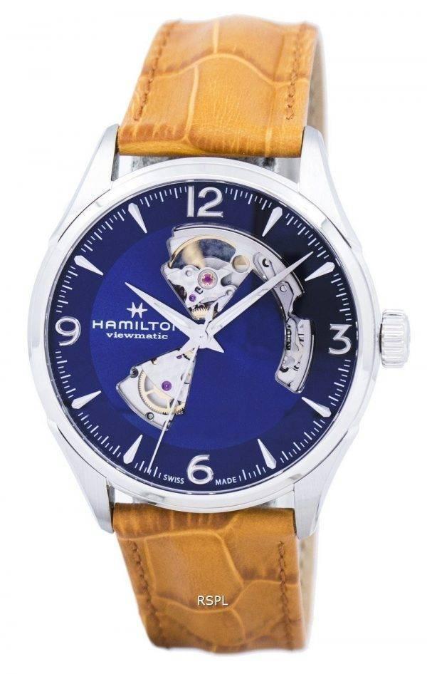 Montre Hamilton Jazzmaster hommes coeur ouvert automatique H32705541 masculin
