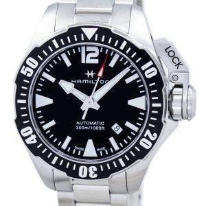 Montre Hamilton Khaki Frogman marine automatique H77605135 masculin