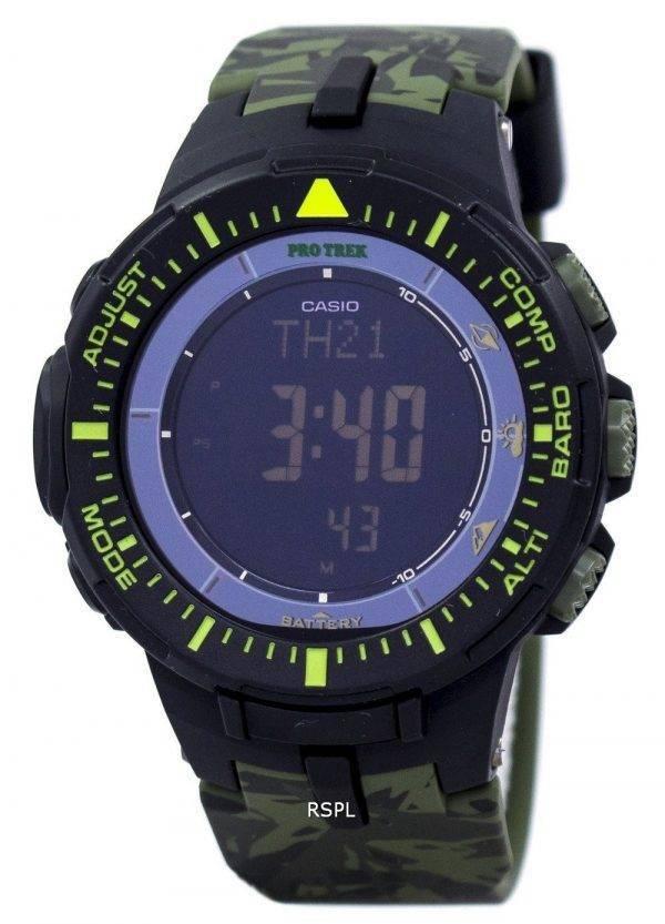 Montre Casio Protrek monde temps basse température Tough Solar numérique PRG-300CM-3 hommes