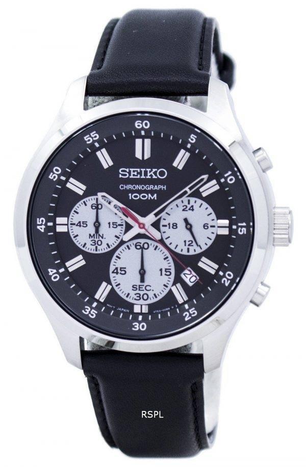 Montre Seiko chronographe Quartz SKS595 SKS595P1 SKS595P hommes
