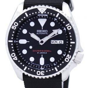Montre 200M NATO bracelet SKX007J1-NATO4 masculin automatique Seiko Diver