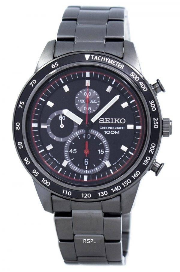 Montre Seiko chronographe tachymètre Quartz SNDD89 SNDD89P1 SNDD89P hommes
