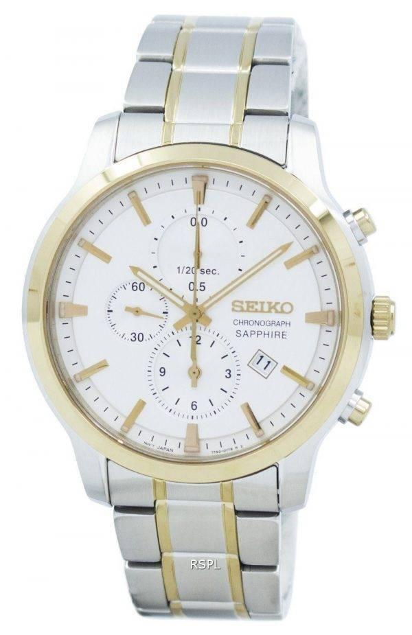 Montre Seiko classique Chronographe Quartz SNDG68 SNDG68P1 SNDG68P hommes