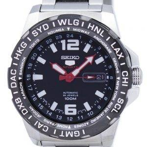 Seiko 5 Sports Japon fait montre GMT automatique SRP685 SRP685J1 SRP685J masculine