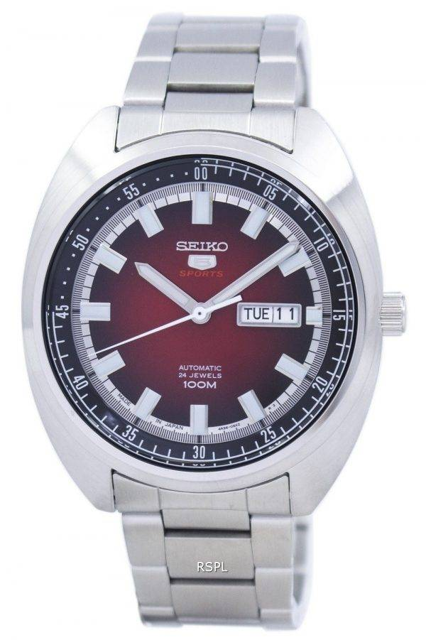 Seiko 5 Sports automatique Japon a SRPB17 SRPB17J1 SRPB17J montre homme