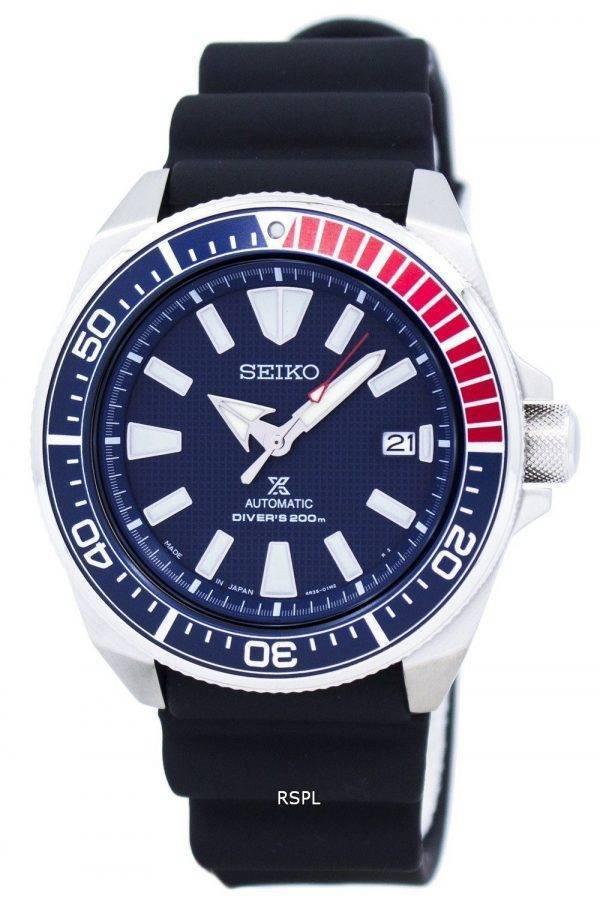 Seiko Prospex Samurai plongeurs automatique 200M Japon fait SRPB53 SRPB53J1 SRPB53J montre homme