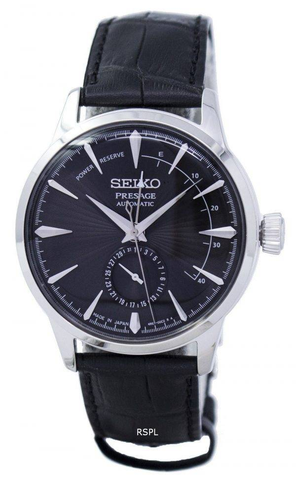 Cocktail de Presage Seiko Watch « Expresso Martini » Power Reserve SSA345 SSA345J1 SSA345J masculine