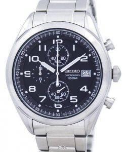 Montre Seiko chronographe Quartz SSB269 SSB269P1 SSB269P hommes