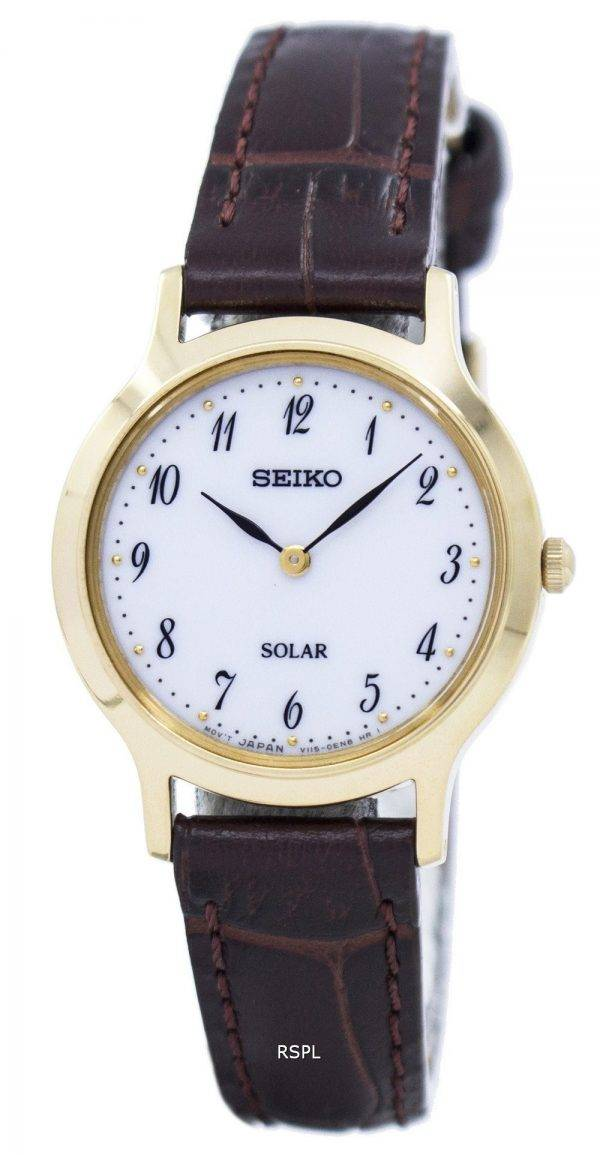 Montre Seiko solaire SUP370 SUP370P1 SUP370P féminin