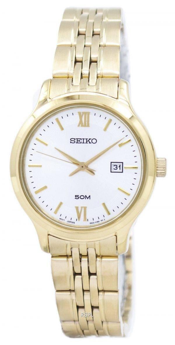 Montre Seiko classique Quartz SUR704 SUR704P1 SUR704P féminin