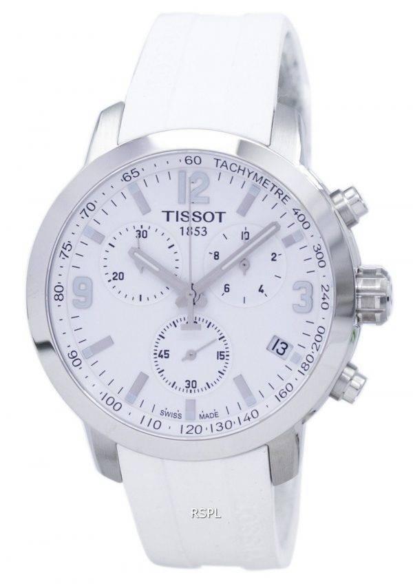 Montre Tissot T-Sport PRC 200 chronographe tachymètre T055.417.17.017.00 T0554171701700 hommes