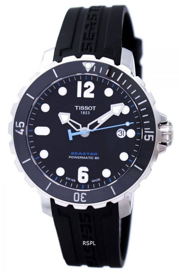 Montre Tissot T-Sport Seastar 1000 Powermatic 80 T066.407.17.057.02 T0664071705702 masculin
