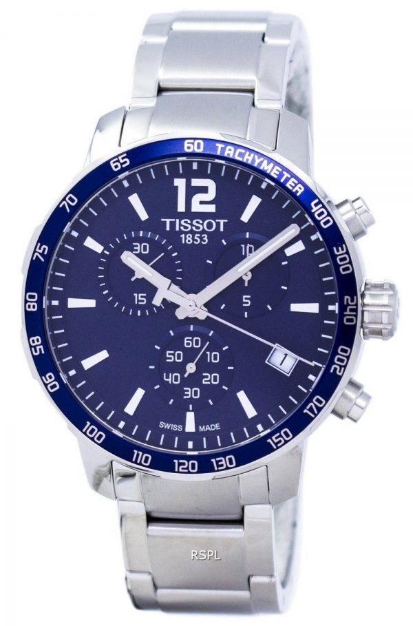 Montre Tissot T-Sport Quickster Chronograph T095.417.11.047.00 T0954171104700 hommes
